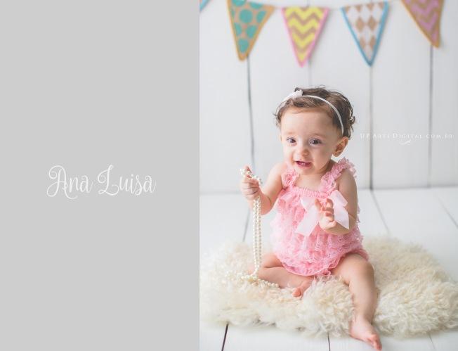 Acompanhamento Mensal Bebe - Ana Luiza 6 Meses