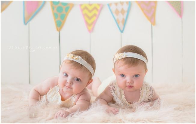 Fotografo infantil Maringa Fotografo Parana Fotos Bebe Maringa - Acompnhamento Mensal - Anita e Lia 6 MEses