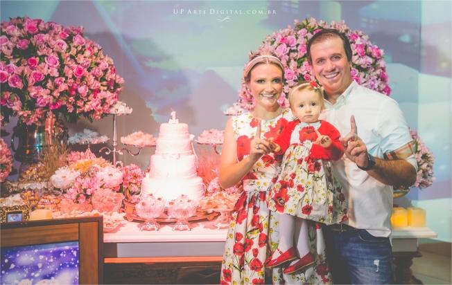 Aniversario Infantil Umuarama Buffet Casa Rosada - Guilhermina 1 Ano 15