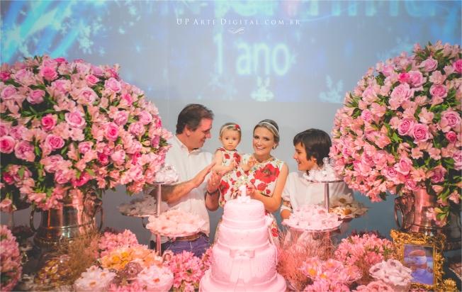 Aniversario Infantil Umuarama Buffet Casa Rosada - Guilhermina 1 Ano 25