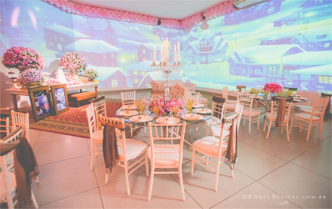Aniversario Infantil Umuarama Buffet Casa Rosada - Guilhermina 1 Ano 3