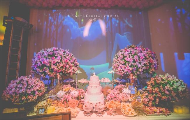 Aniversario Infantil Umuarama Buffet Casa Rosada - Guilhermina 1 Ano 7